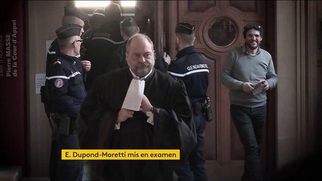 Justice : Éric Dupond-Moretti mis en examen, ses avocats annoncent que le garde des Sceaux va faire appel