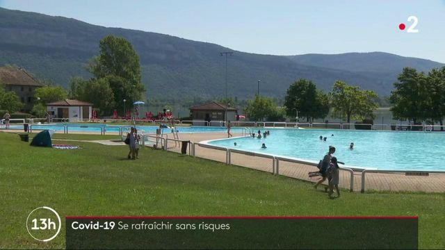 Pic de chaleur : les bases de loisirs aquatiques attendent les visiteurs sur fond de Covid