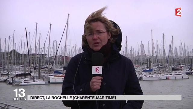 Tempête : La Rochelle est balayée par des vents violents