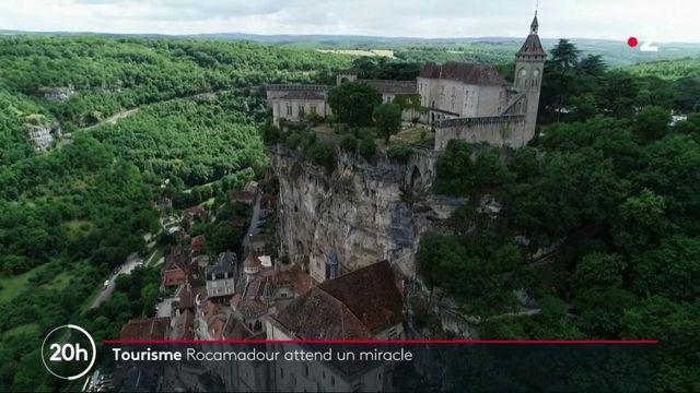 Lot : les ruelles pittoresques de Rocamadours attendent encore les touristes