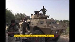 L'armée afghane en difficulté face aux talibans (FRANCEINFO)