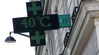 Illustration températures élevées. (VINCENT ISORE / MAXPPP)