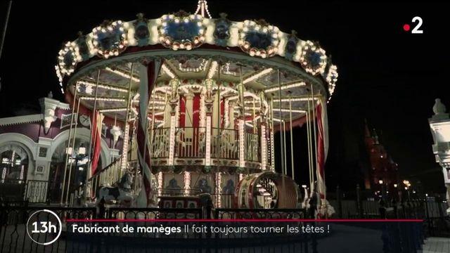 Savoir-faire : à la découverte du dernier fabricant de carrousels français