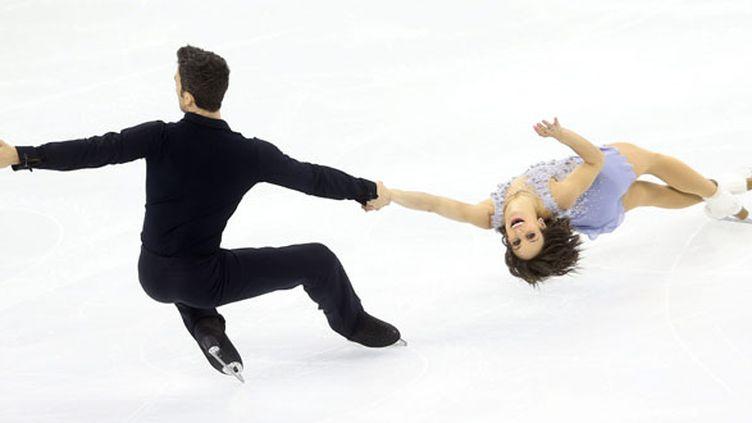 Le couple canadien Duhamel - Radford (HOW HWEE YOUNG / MAXPPP)