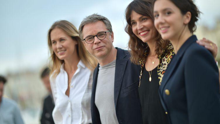 Le jury du Festival de la Fiction La rochelle 2021présidé par Guillaume de Tonquedec (FRANCK CASTEL / MAXPPP)