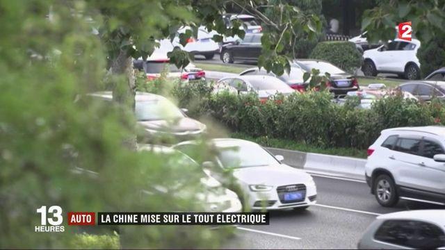 Automobile : Pékin choisit le tout électrique