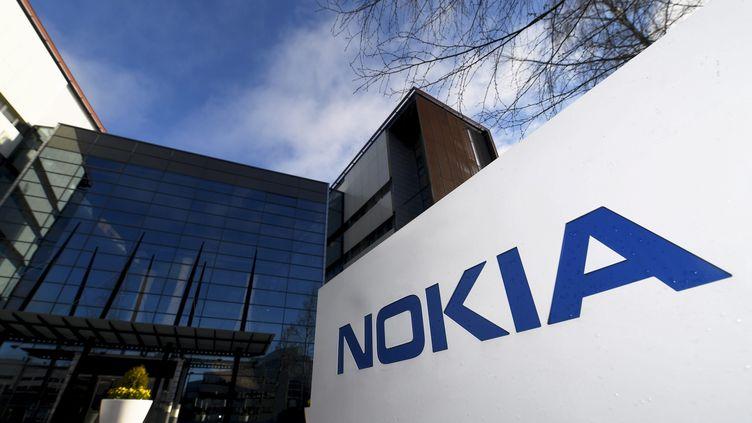 Le siège de Nokia, à Espoo, en Finlande, le 27 avril 2017. (VESA MOILANEN / LEHTIKUVA / AFP)