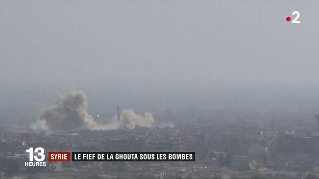 Syrie : le fief de la Ghouta sous les bombes