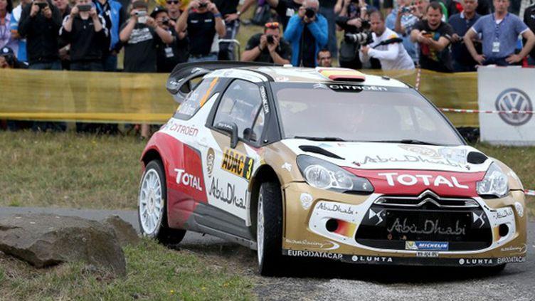 Daniel Sordo (Citroën) (THOMAS FREY / DPA)