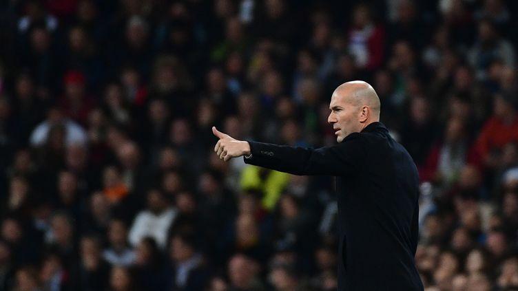 Zinedine Zidane. (PIERRE-PHILIPPE MARCOU / AFP)