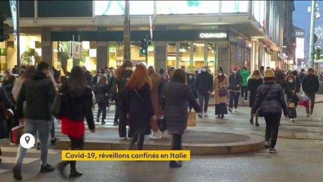 Coronavirus : l'Italie se reconfine juste avant les fêtes