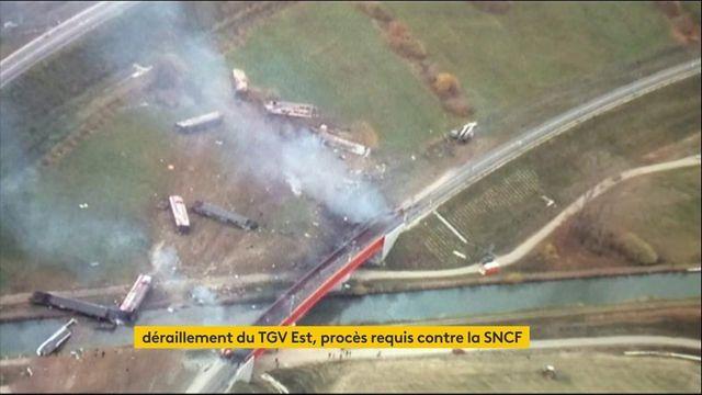 Transports : procès requis contre la SNCF après le déraillement mortel d'un TGV