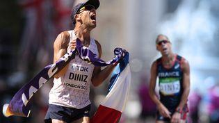 Entre sa désillusion de Rio en 2016 et son titre de champion du monde à Londres en 2017,Yohann Dinizn'aura mis qu'un an pour remonter la pente. (DANIEL LEAL-OLIVAS / AFP)