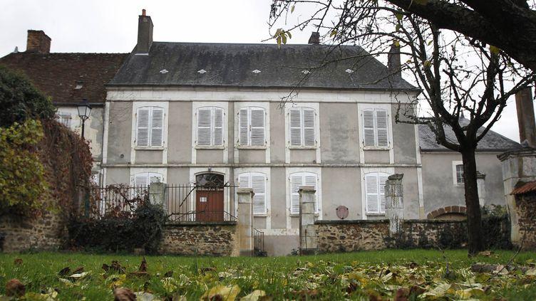 La maison natale de Colette à Saint-Sauveur-en-Puisaye dans l'Yonne  (Jeff Pachoud / AFP)