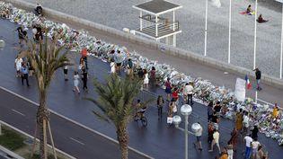La promenade des Anglais, à Nice (Alpes-Maritimes), le 20 juillet 2016. (VALERY HACHE / AFP)