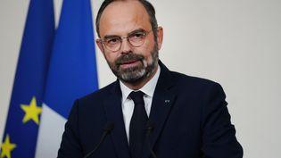 Le Premier ministre, Edouard Philippe, le 19 décembre 2019 à Matignon, à Paris. (MARTIN BUREAU / AFP)