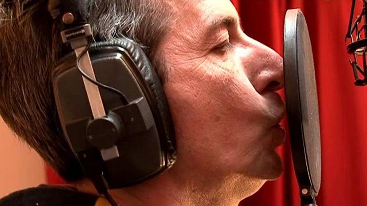 Eric Faraill en studio  (France 3/ Culturebox)