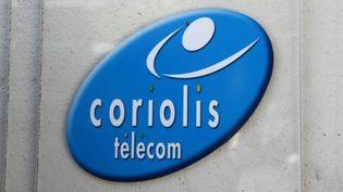 Le logo de Coriolis sur une enseigne de l'entreprise. (SYLVESTRE / MAXPPP)