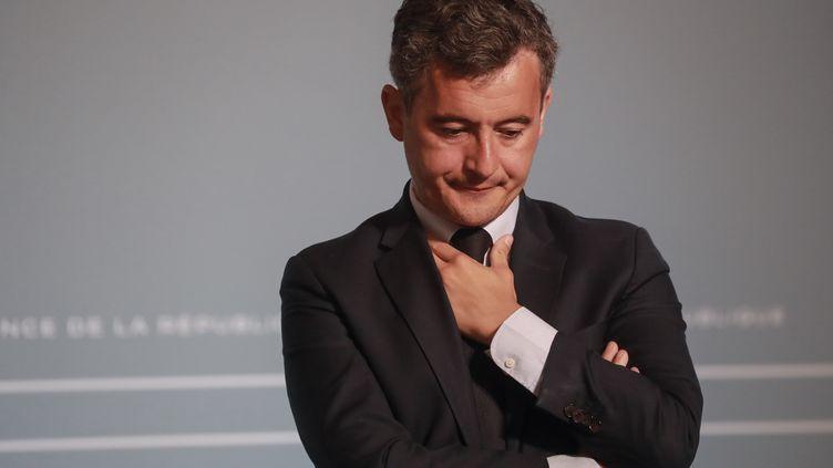 Le nouveau ministre de l'Intérieur Gérald Darmanin, le 10 juin 2020 à Paris. (LUDOVIC MARIN / POOL)