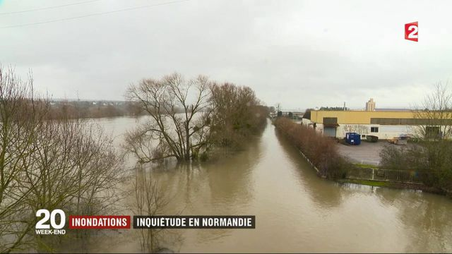 Inondations : inquiétude en Normandie