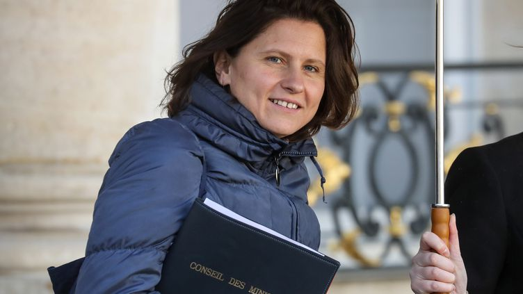 La ministre des Sports Roxana Maracineanu à l'Elysée, le 26 février 2020. (LUDOVIC MARIN / AFP)