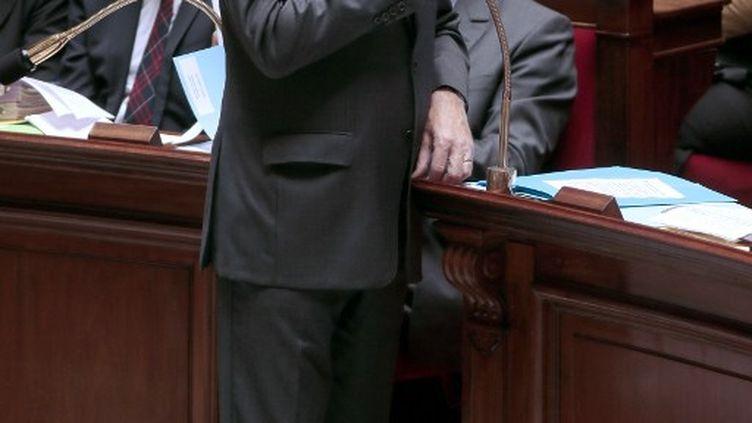Le Premier ministre, Jean-Marc Ayrault, lors des questions au gouvernement à l'Assemblée nationale, le 1er octobre 2013. (JACQUES DEMARTHON / AFP)