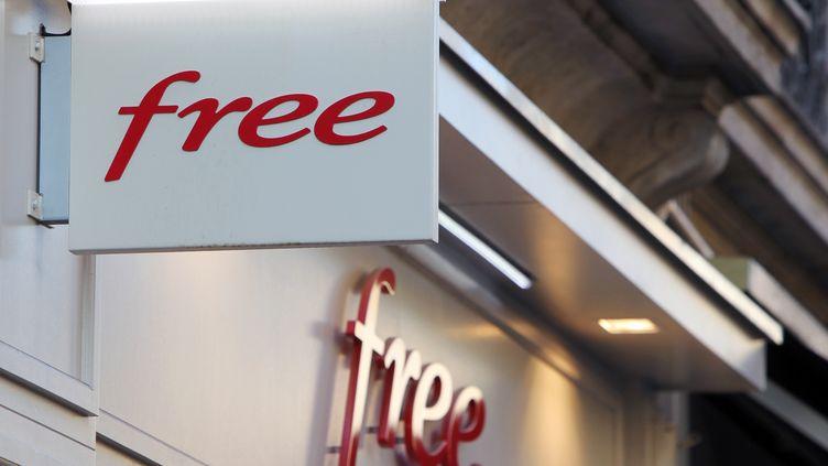 Boutique Free à Rouen (Seine-Maritime) le 19 décembre 2011. (KENZO TRIBOUILLARD /AFP)