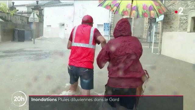 Inondations dans le Gard : plus de deux mois de pluie en quelques heures, des dégâts mais pas de victime
