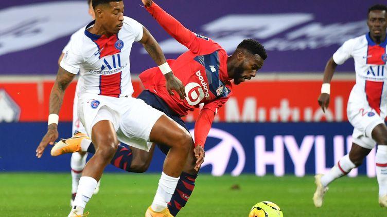 Kimpembe a réalisé une intervention héroïque pour sauver son équipe (DENIS CHARLET / AFP)