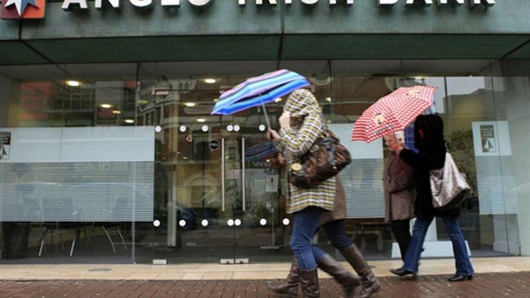 Anglo Irish bank (AFP/PETER MUHLY)