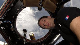 Thomas Pesquet à bord de l'ISS (14 février 2017)  (MaxPPP)
