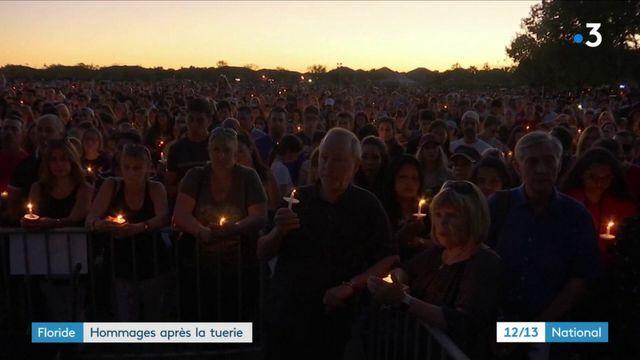 Etats-Unis : la Floride rend hommage aux victimes de la tuerie de Parkland