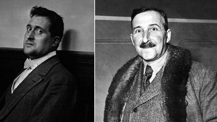 Guillaume Apollinaire en novembre 1913 à Paris - Stefan Zweig dans un portrity non daté  (Collection Yli / AP / Sipa)