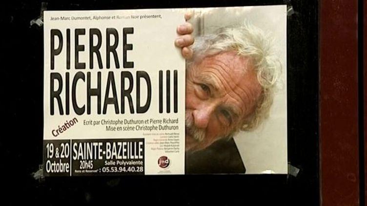 Pierre Richard III, le nouveau one man show de Pierre Richard  (France3/Culturebox)