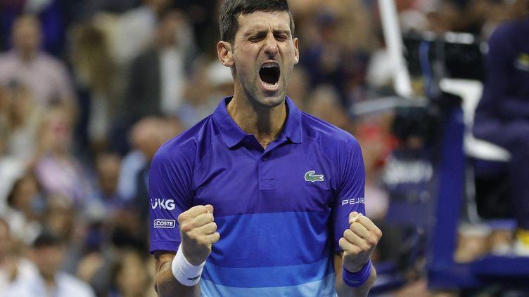 Novak Djokovic n'est plus qu'à une victoire du Grand Chelem. (SARAH STIER / GETTY IMAGES NORTH AMERICA)