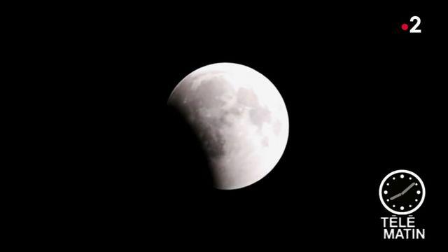 """""""Lune rousse"""" : une éclipse totale à observer sans danger"""