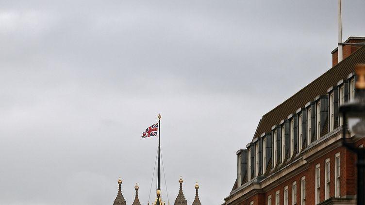 Le Palais de Westminster à Londres (Royaume-Uni), le 16 janvier 2019. (OLI SCARFF / AFP)