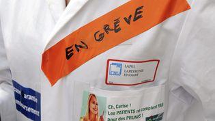 Manifestation des internes en medecine, le 14 novembre 2012, à Montpellier. (Photo d'illustration) (JEAN MICHEL MART / MAXPPP)