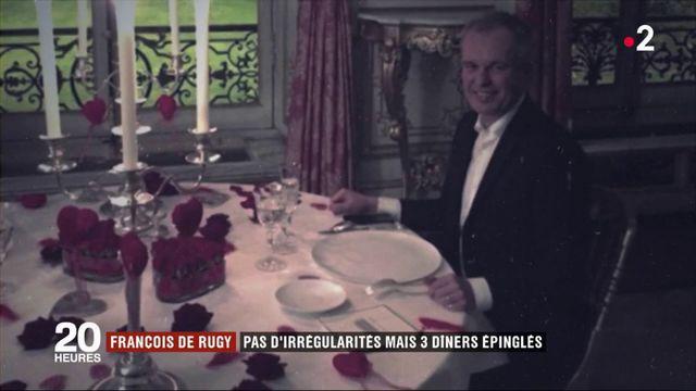François de Rugy : pas d'irrégularités mais trois dîners épinglés par l'enquête de l'Assemblée