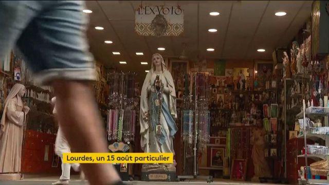 Coronavirus : 15 août inédit pour les chrétiens à Lourdes