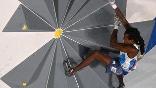 Le Français Mickael Mawem n'a pas remporté de médaille olympique à Tokyo, lors de la finale du combiné, le 5 août 2021. (MOHD RASFAN / AFP)
