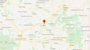 Blois (Loir-et-Cher) (GOOGLE MAPS)