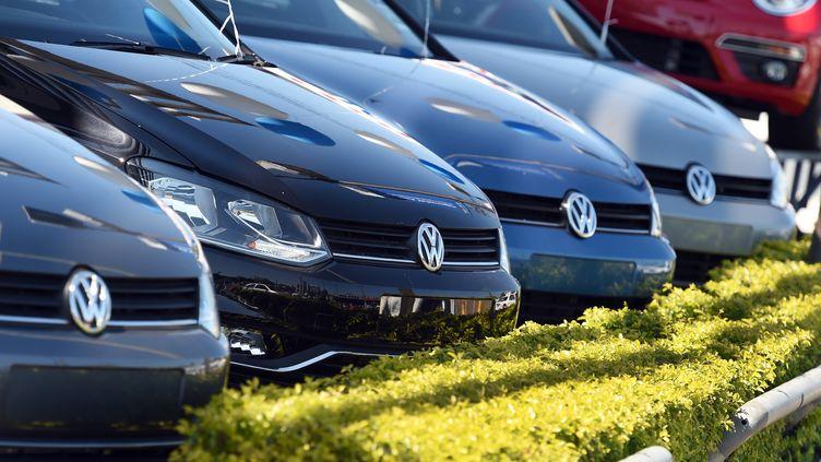 DesVolkswagen chez un concessionnaire (WILLIAM WEST / AFP)