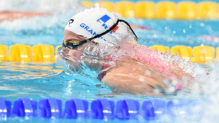 Lara Grangeon sera en finale du 400m quatre nages (STEPHANE KEMPINAIRE / STEPHANE KEMPINAIRE)