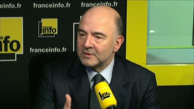Pour Pierre Moscovici, la gauche et la droite doivent accepter l'idée d'une coalition