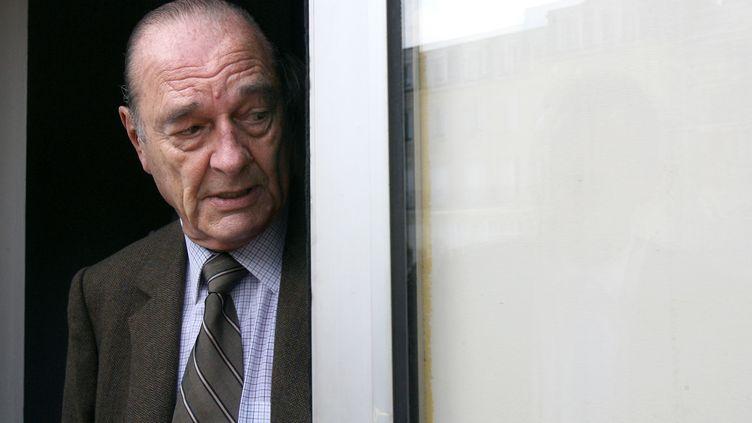 Jacques Chirac en septembre 2009. (THOMAS BREGARDIS / AFP)