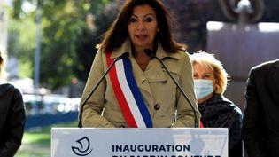 Anne Hidalgo, le 26 septembre 2020, à Paris. (BERTRAND GUAY / AFP)