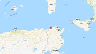 L'accident s'est produit dans la région montagneuse d'Aïn Snoussi (Tunisie),proche la frontière algérienne, dimanche 1er décembre. (GOOGLE MAPS)