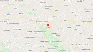 Guéret (Creuse). (GOOGLE MAPS)