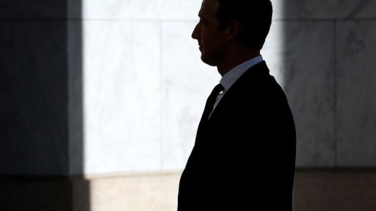 Mark Zyckerberg, créateur et dirigeant de Facebook, au Capitole, à Washington D.C. (Etats-Unis), le 23 octobre 2019.  (WIN MCNAMEE / GETTY IMAGES NORTH AMERICA / AFP)